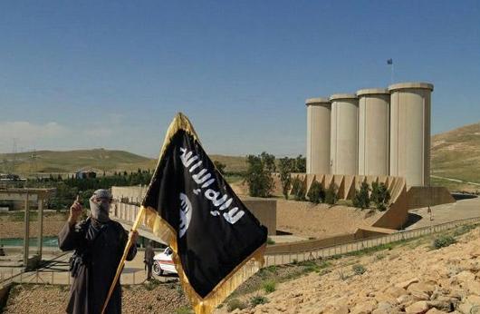 Bendungan Kota Mosul