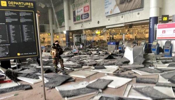 Jumlah Korban Tewas Bom Brussel Kini Mencapai 34 Orang