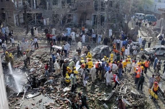 Bom Bunuh Diri Lahore Pakistan Tewaskan 72 Orang, Taliban Incar Umat Kristiani