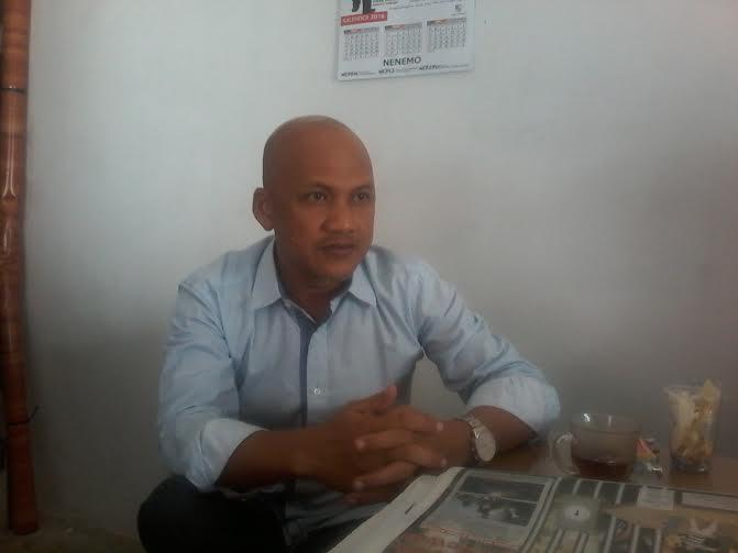 Ketua Pemuda Pancasila Kabupaten Tulangbawang Barat Agustomi | Rengki/jejamo.com