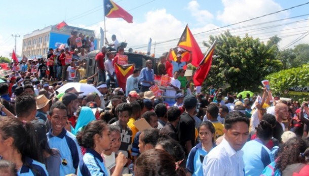 Timor Leste Bergolak, 10 Ribu Demonstran Kepung Kedutaan Australia di Dili