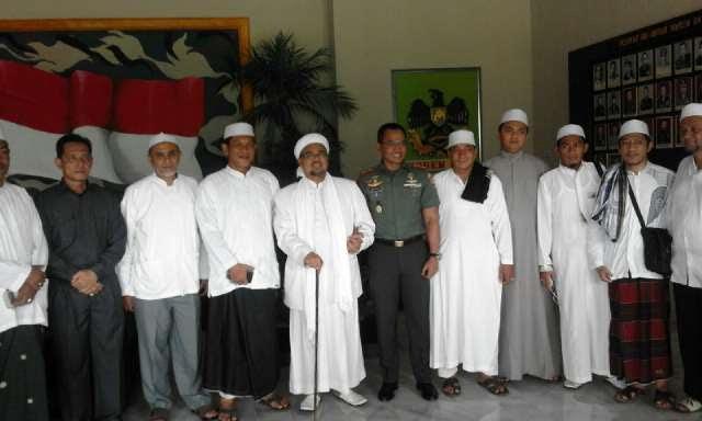 Habieb Rizieq Hadiri Peringatan Maulid Nabi di Kalianda Lampung Selatan