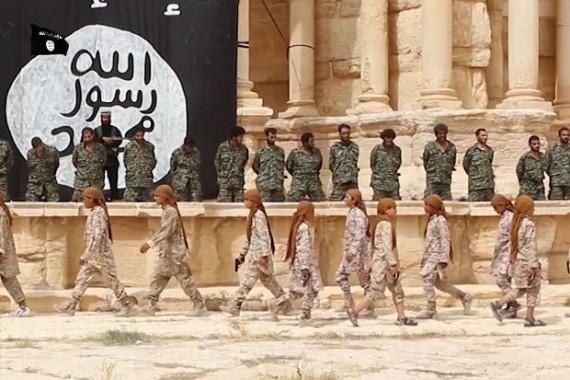 Pasukan Suriah Segera Rebut Kota Kuno Palmyra Dari ISIS