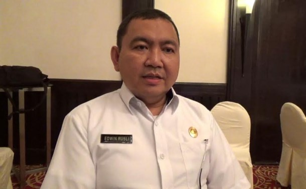 Edwin Rusli, Kepala Dinas Kesehatan Kota Bandar lampung | Sigit/jejamo.com