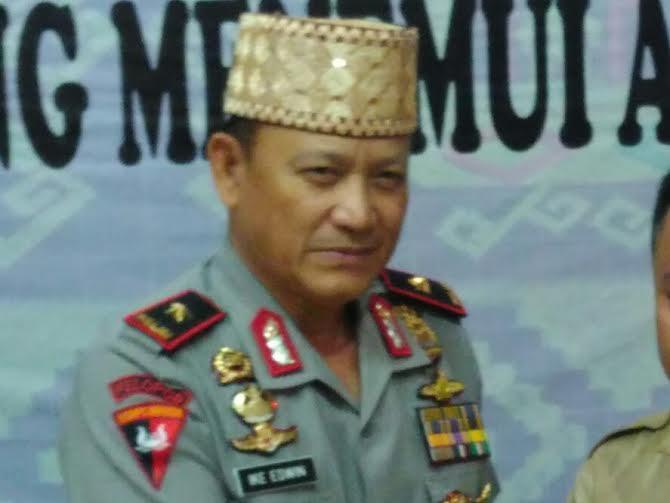 Kapolda Lampung Brigadir Jenderal (Brigjen) Ike Edwin | Andi/jejamo.com