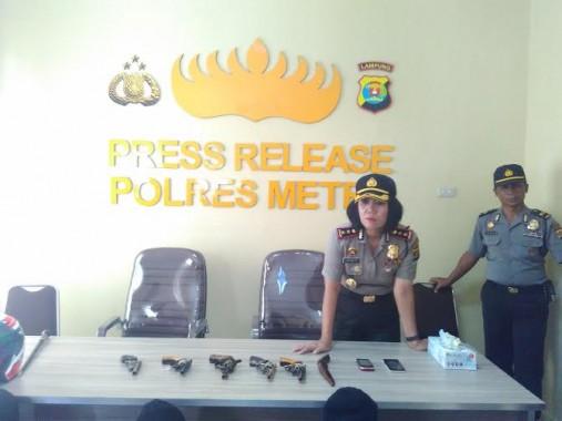 Warga Lampung Masih Terbiasa Membawa Badik? Rutan Polisi Menanti Anda