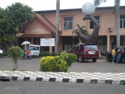 Kawasan Stadion Pahoman Bandar Lampung | ist