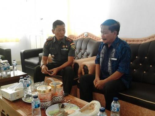 Kepala Biro Jejamo.com dan Rombongan Kunjungi Kodim 0427 Way Kanan