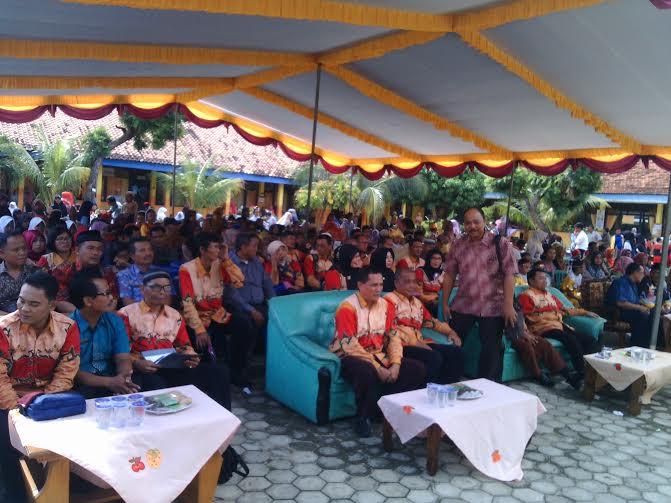 SMPN 1 Way Jepara Lampung Timur Gelar FLS2N
