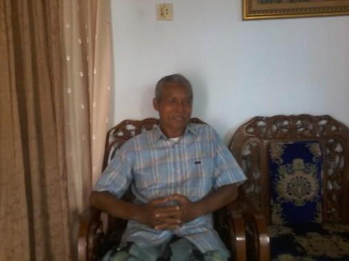 Ketua Majelis Ulama Indonesia (MUI) Lampung Utara Mughofir | Mukaddam/jejamo.com