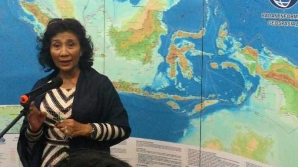 Menteri Kelautan dan Perikanan Indonesia, Susi Pudjiastuti