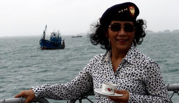 Menteri Susi Minta Pemerintah Cina Serahkan Kapal Pencuri Ikan