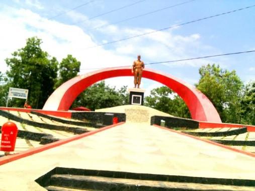 Monumen Mayjen Ryacudu | Rengki/ist