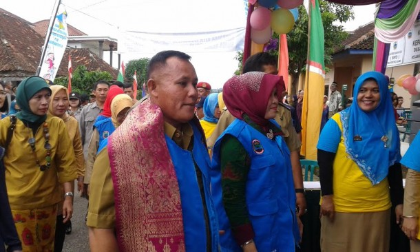 Wakil Bupati Lampung Selatan Nanang Ermanto menghadiri pencanangan PIN di kabupaten setempat, Selasa, 8/3/2016. | Heri Fulistiawan/jejamo.com