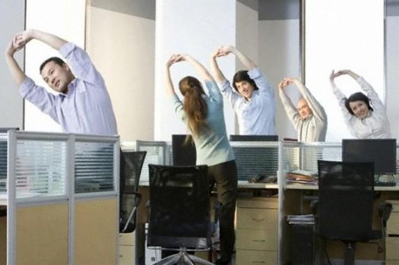 Tips Sederhana Menjaga Kebugaran Tubuh di Tempat Kerja