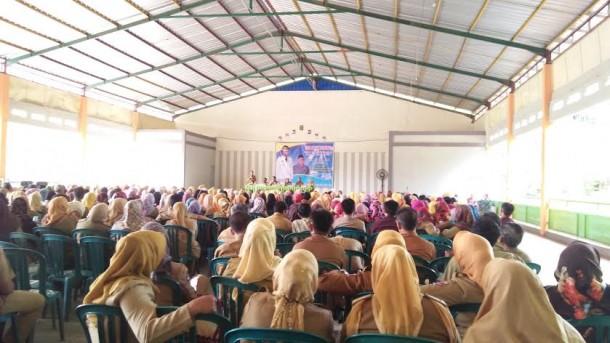 Sekda Lampung Utara Kembali Temui Guru Sekecamatan Kotabumi Selatan