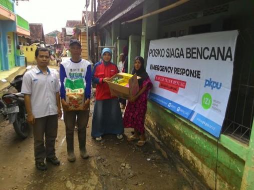 PKPU-IZI Lampung Salurkan Bantuan Korban Banjir