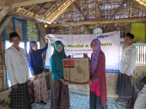 Ajak BEM Unila, PKPU Lampung Gagas Kampung Berdaya