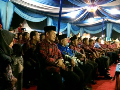 Malam Pembukaan Pameran Pembangunan Tubaba Dihadiri Ribuan Warga