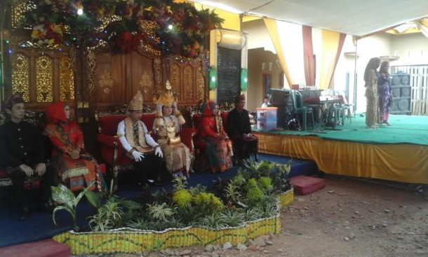 Pasangan di Lampung Utara Ini Menikah di Hari Gerhana Berlangsung