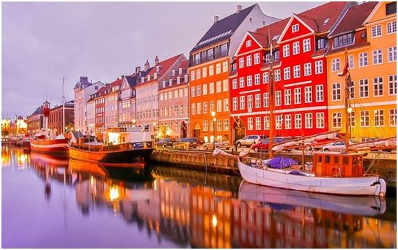 Pelabuhan Sungai di Denmark