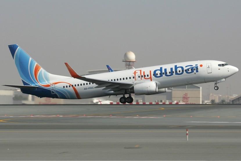 Pesawat FlyDubai. | Ist.