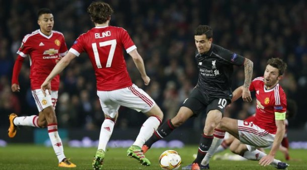 Gol Cungkil Coutinho ke Gawang MU Bawa Liverpool ke 8 Besar Liga Europa