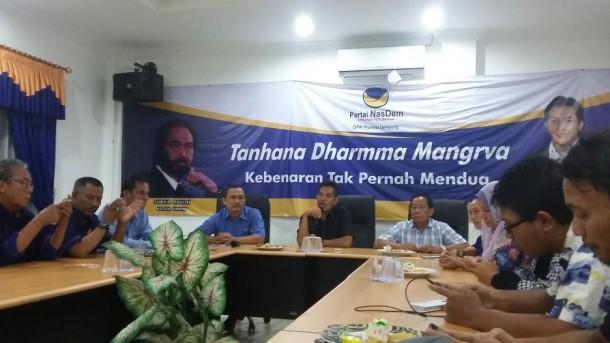 DPW NasDem Lampung Tutup Program Indonesia Memanggil