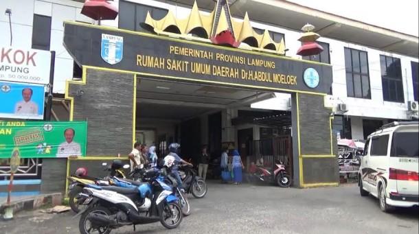 RSUD Abdul Moeloek Lampung | Sigit/jejamo.com