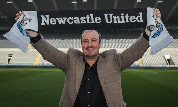 Rafa Benitez Tangani Newcastle United