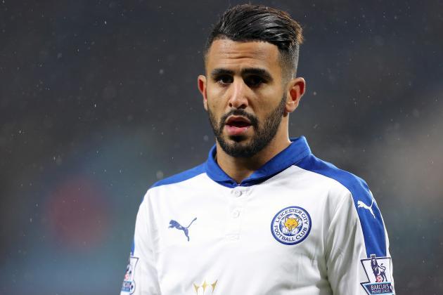 Penyerang Leicester City Riyad Mahrez | ist