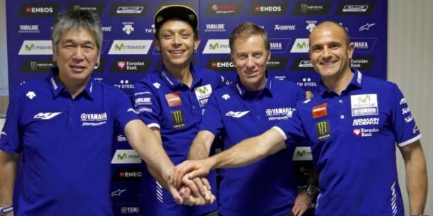 Rossi dan petinggi Yamaha | ist