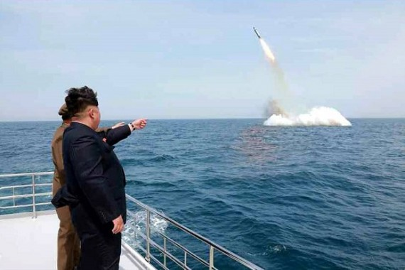 Korea Utara Luncurkan 2 Rudal Balistik ke Laut Jepang