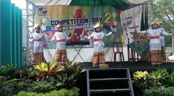 Peresmian gedung sekolah, SMPmu Ahmad Dahlan Metro helat Competition Day 2 untuk pelajar SD/MI se-Eks Lampung Tengah, Jumat, 4/3/2016 | Wahyu/jejamo.com