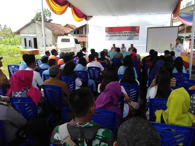 Polsek Telukbetung Barat Bandar Lampung membentuk Satuan Tugas (Satgas) anti narkoba Kecamatan Telukbetung Barat | Andi/jejamo.com