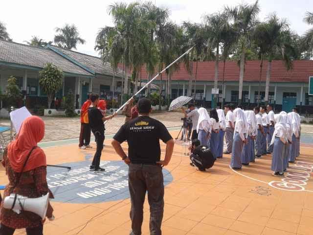 Shooting film Ghandaru dilakukan di SMAN1 Gadingrejo, Pringsewu | Adian Saputra/Jejamo.com