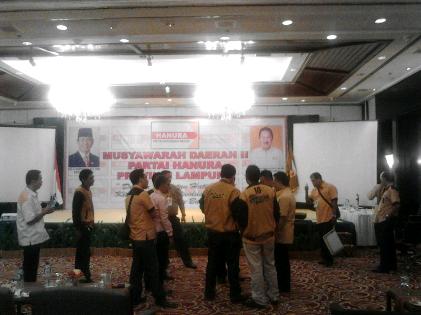 Indra Hidayat Pimpin DPD Hanura Lampung
