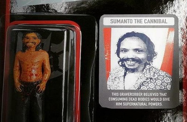 Sumanto dijadikan tokoh action figure Indonesian Canibal | ist
