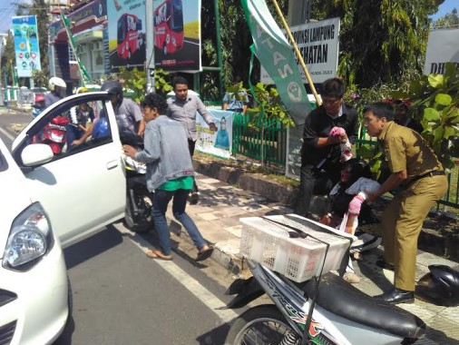 Bupati Lampung Utara Lepas 50 Jemaah Umroh