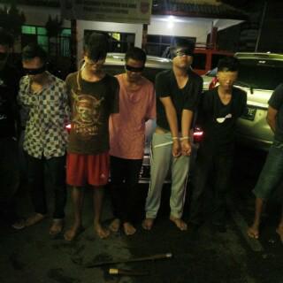 Empat Tersangka Pembunuh Dwiki Sopian di Bandar Lampung Ditangkap