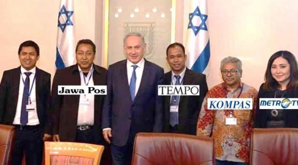 Pertemuan Wartawan Indonesia dengan PM Israel Diharap Tak Terjadi Lagi