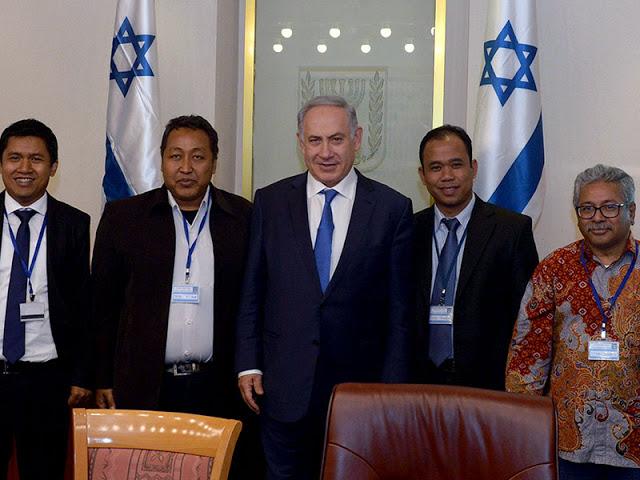 Presiden Serukan Boikot, Diam-diam Para Wartawan Senior Indonesia Temui PM Israel