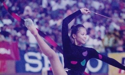 Ratu Senam Indonesia Yulianti Kini Melatih Atlet Lampung