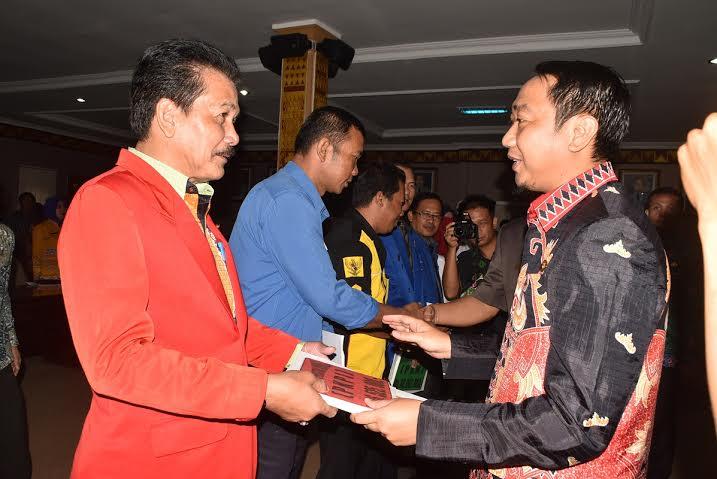 Pemkab Lampung Utara Rogoh APBD Rp 1 Miliar untuk Bantu Parpol