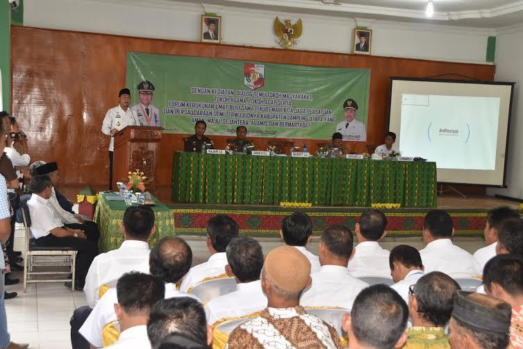 Ornamen Khas Lampung Hilangkan Kesan Seram Kantor Polsek Seputihmataram Lamteng