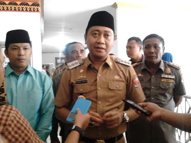 Bupati Lampung Utara H.Agung Ilmu Mangkunegara. | Lia/Jejamo.com