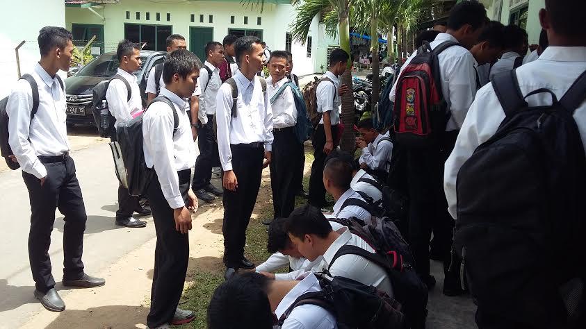Ratusan Remaja Lampung Ikuti Seleksi Tamtama TNI
