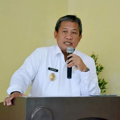 Wakil Wali Kota Metro, Djohan. | Tyas/Jejamo.com