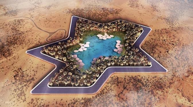 Uni Emirat Arab Segera Bangun Resor Mewah di Tengah Gurun Pasir