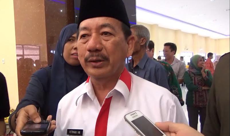 Wali Kota Bandar Lampung, Herman HN. | Sigit/Jejamo.com